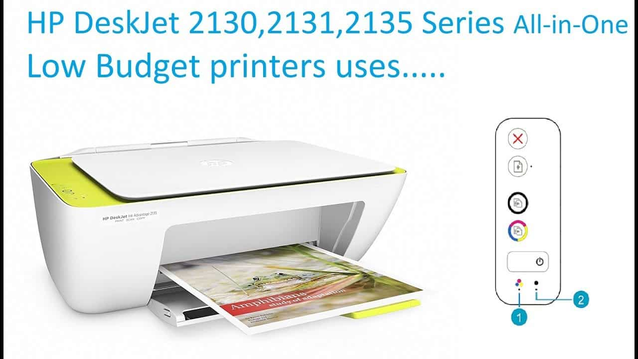 Hp Deskjet Ink Advantage 2135 Resolve Printing Error In Hp Deskjet