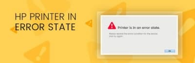 HP Deskjet 1000 Printer in Error State