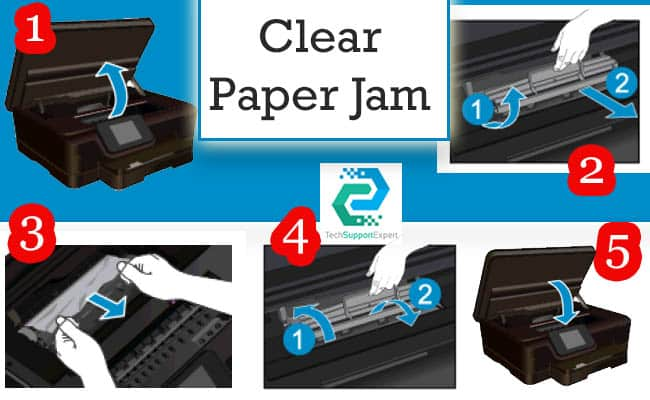 HP Printer 6968 Error Code 0X6100004A | Fix HP Printer Paper Jam