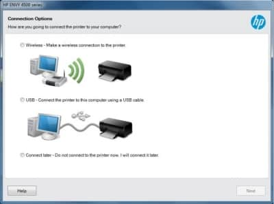 Setup HP Printer Over Wireless Network