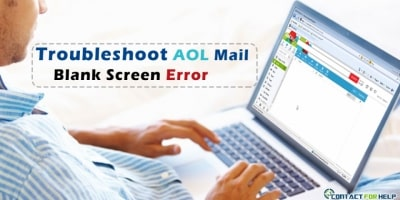 AOL Mail Blank Screen