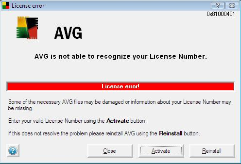 avg you are not fully protected 2018