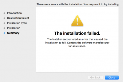 Adobe Creative Cloud desktop App Installation Error