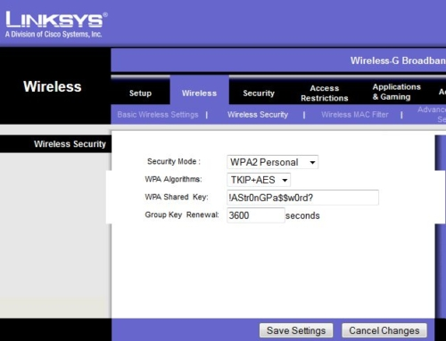 How to Change Password on Linksys Router – Linksys Router Support