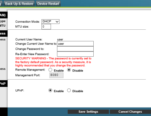 How to change Cisco Router Password & Username?