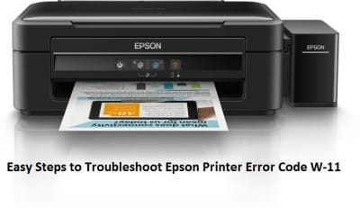 Easy Steps to Troubleshoot Epson Printer Error Code W-11