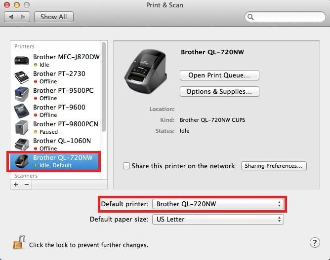 Install Brother Printer Driver on Mac