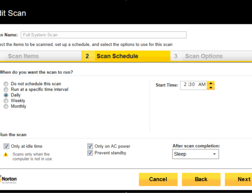 4 Ways to Fix Norton Antivirus Not Scanning – Norton Support