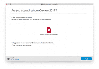 Quicken is not responding
