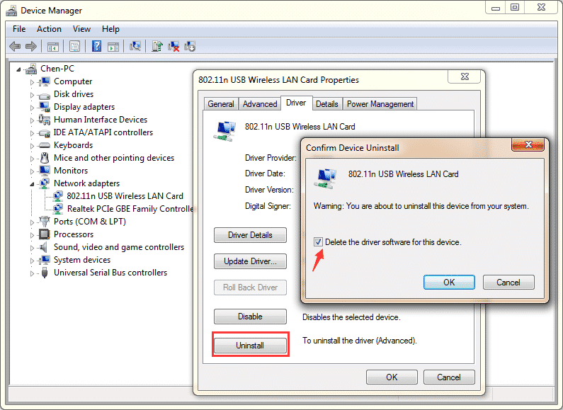 Uninstall Dell Printer Driver