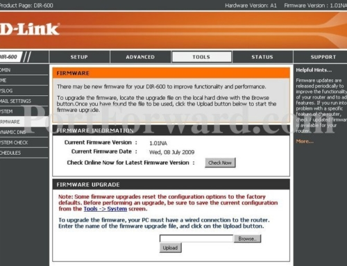 Easy Steps to Update D-link Router Firmware