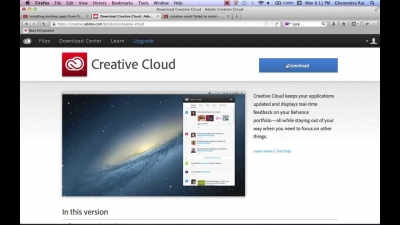 Adobe Error Failed to install Creative Cloud Desktop App