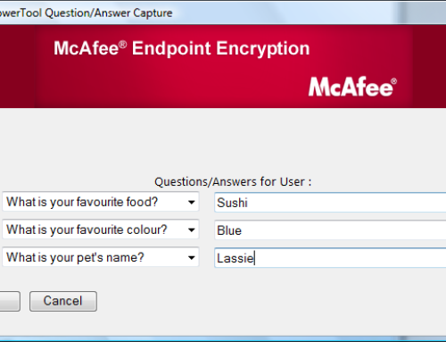 How to Delete McAfee Endpoint Encryption from McAfee Subscription?