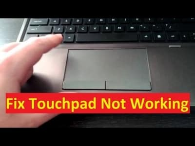 Dell Laptop Touchpad not working
