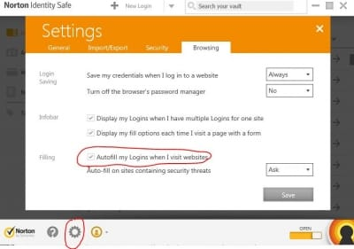 Fix Norton Identity Safe Login Problems