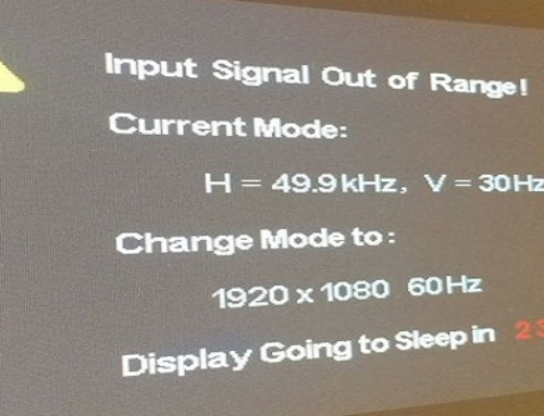 Resolve HP Desktop Input Signal Out Of Range Error with 2 Solutions