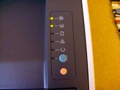HP Printer Blinking Lights Error