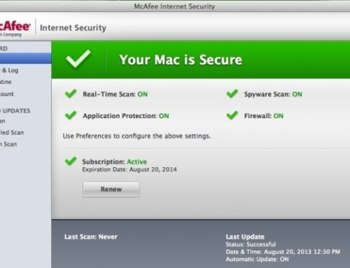 How Install McAfee Internet Security on Mac in 2 Steps?