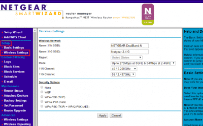 Find Netgear Router SSID Password