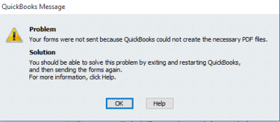 Quickbooks Error Windows 10
