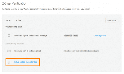 Steps to Create Update Adobe ID