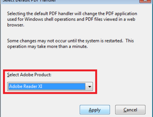Simple guide to Fix Adobe handler error.