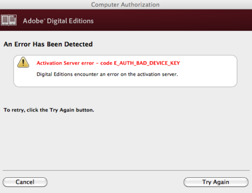Steps to Fix Adobe key error and their causes