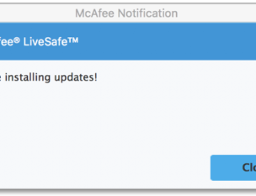 How To Fix Mcafee error 66 – Mcafee Support