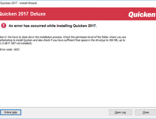 How to fix the Quicken error 409-Quicken Support