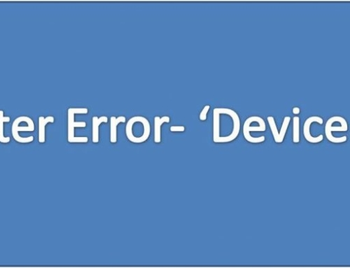 How to Resolve HP Printer Device Busy Error?