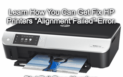 HP Printer Error Alignment Failed