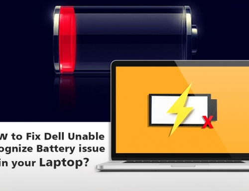How to Fix Dell Unable Recognize Battery issue in your Laptop?