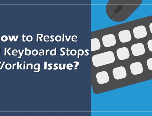 How to Resolve Dell Keyboard Stops Working Issue?