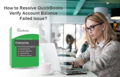 QuickBooks Verify Account Balance Failed