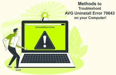 AVG Uninstall Error 70643