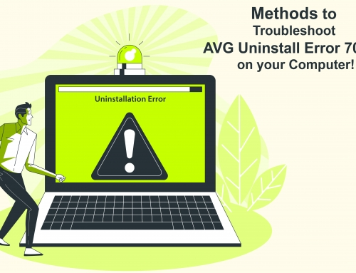 Methods to Troubleshoot AVG Uninstall Error 70643 on your Computer!