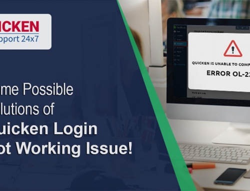 Some Possible Solutions of Quicken Login Not Working Issue!