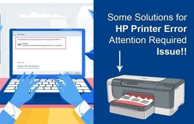 HP Printer Error Attention Required