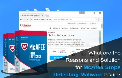 McAfee Stops Detecting Malware