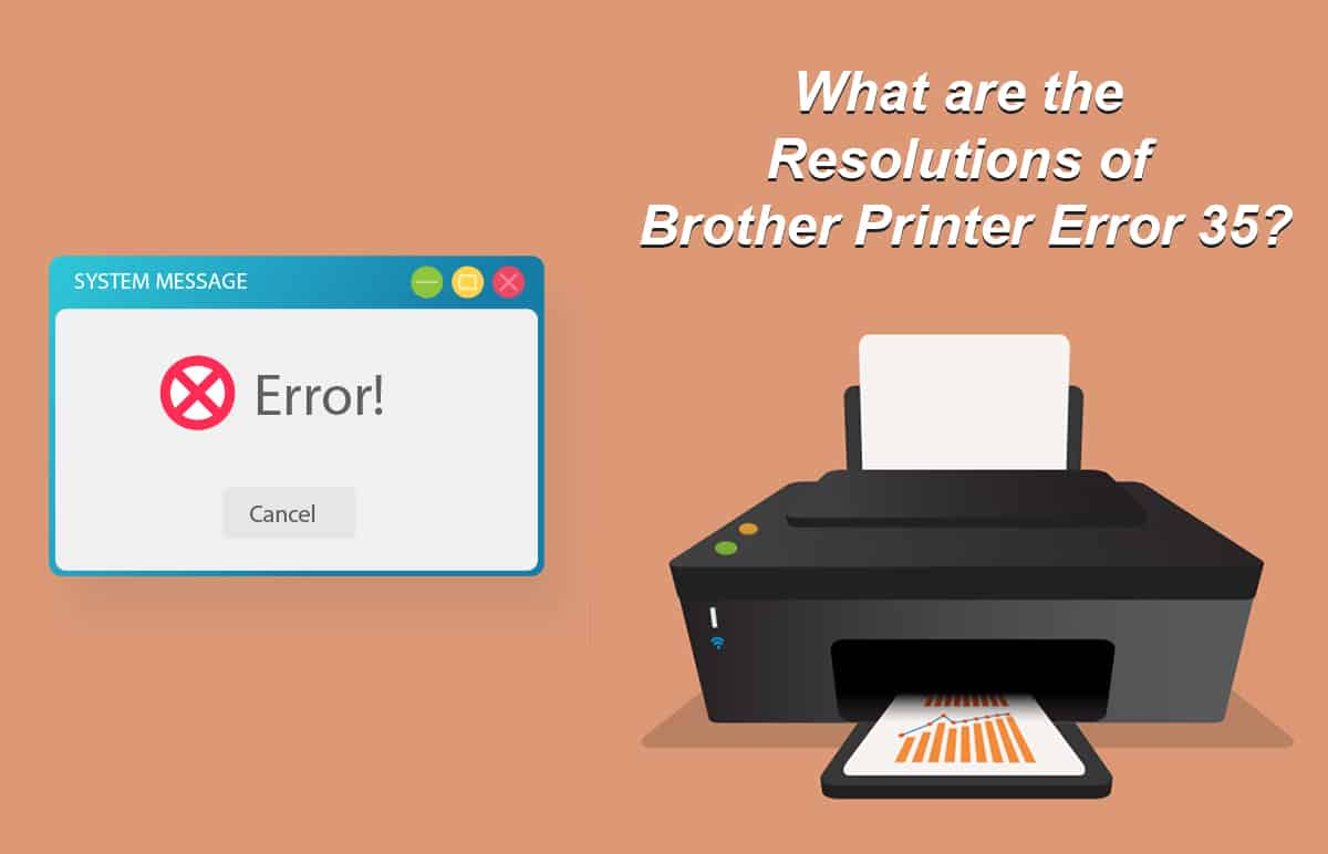 Brother Printer Error 35