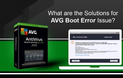 AVG Boot Error Issue