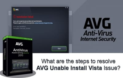 AVG Unable Install Vista