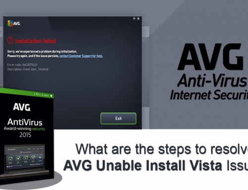 What are the steps to resolve AVG Unable Install Vista Issue?