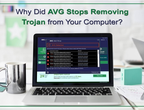 Why Did AVG Stops Removing Trojan from Your Computer?