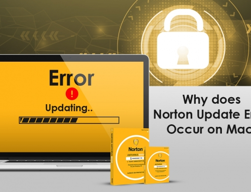 Why does Norton Update Error Occur on Mac?