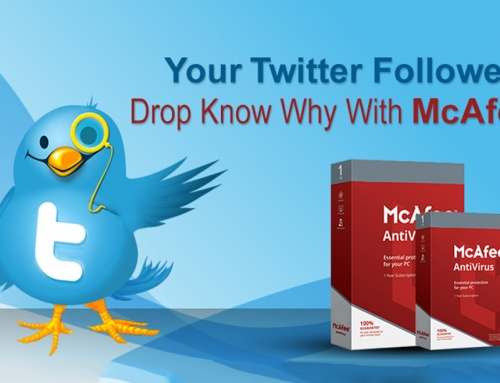 Your Twitter Followers Drop Know Why With McAfee