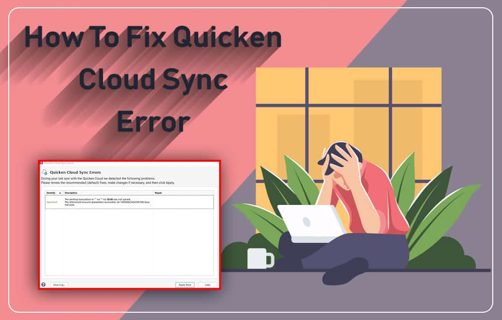 Fix Quicken Cloud Sync Error