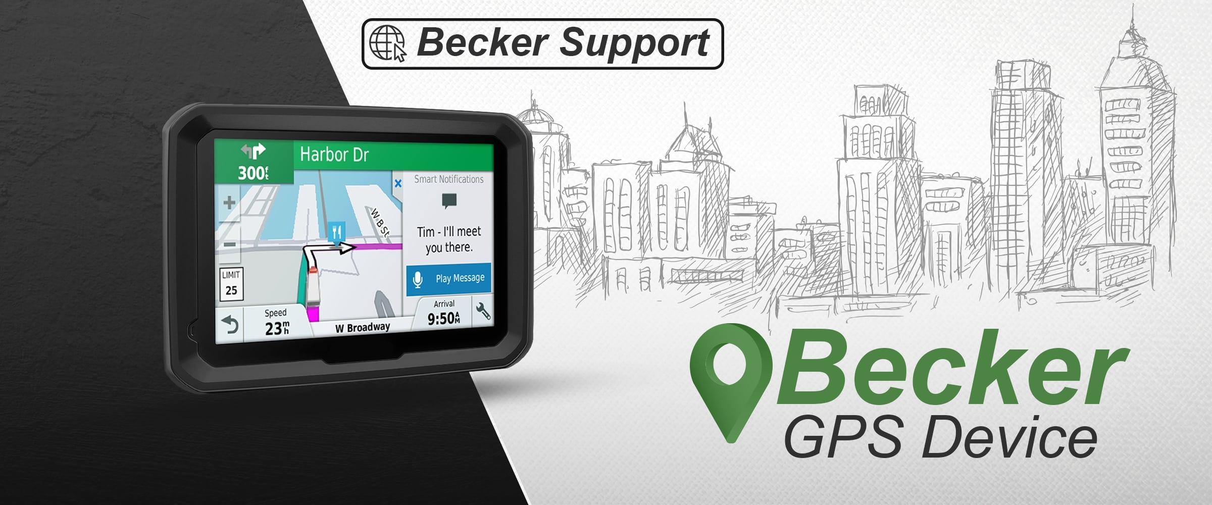 becker support