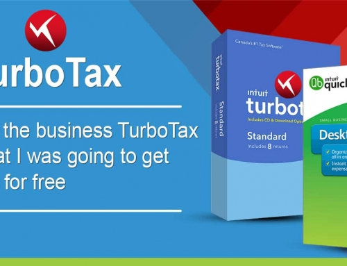 When I filed the business TurboTax they said that I was going to get QuickBooks for free